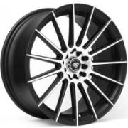 White Diamond WD-3193 Matte Machined Black Wheels