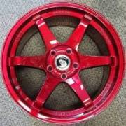 White Diamond 6011 Candy Red Wheels