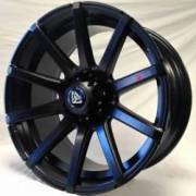 White Diamond 0036 Matte Black Wheels