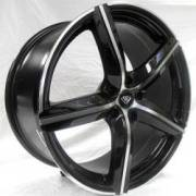 White Diamond 4505 Black Machined
