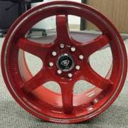 White Diamond W-6011 Red Wheels